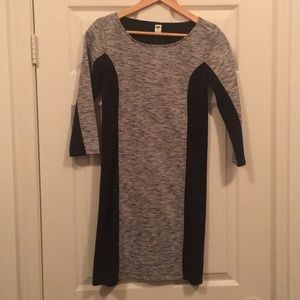 NWT Black & Gray Day-to-Night Dress